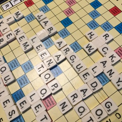 I won Scrabble!