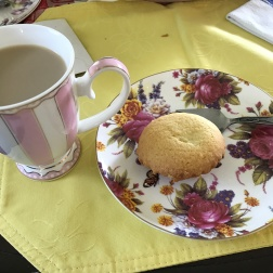 Tea and shortcake