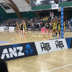 Pulse vs Magic netball game