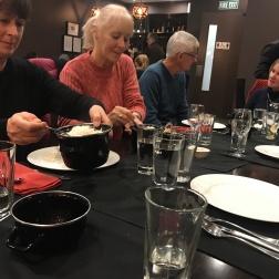 Last family dinner