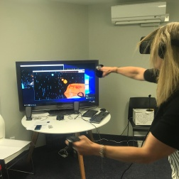 VR fun at work